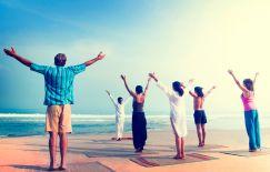 Istock group meditation